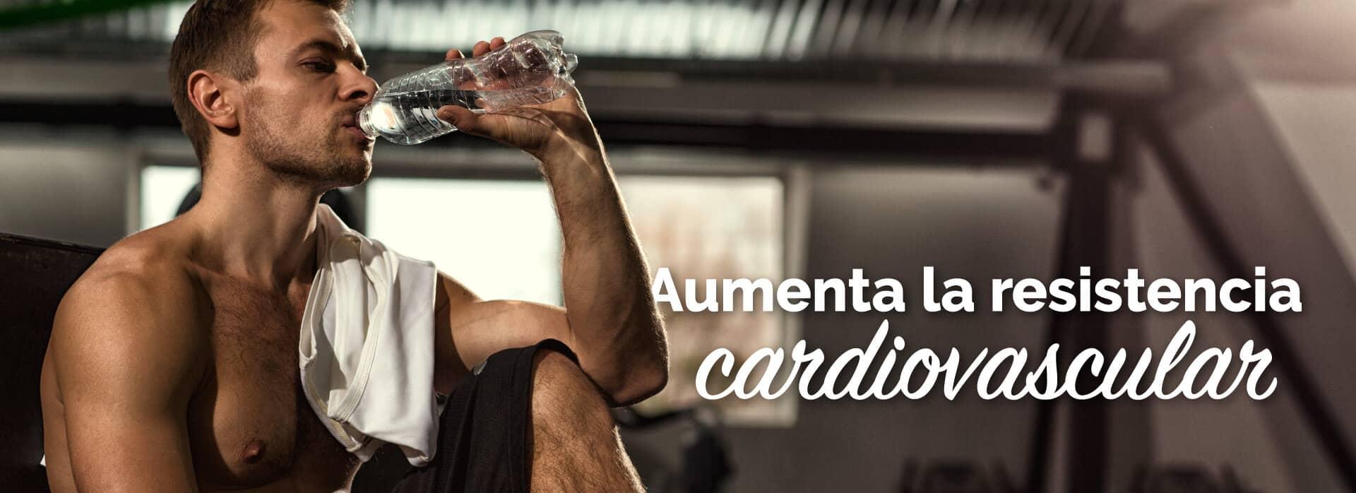 Aumenta la resistencia cardiovascular