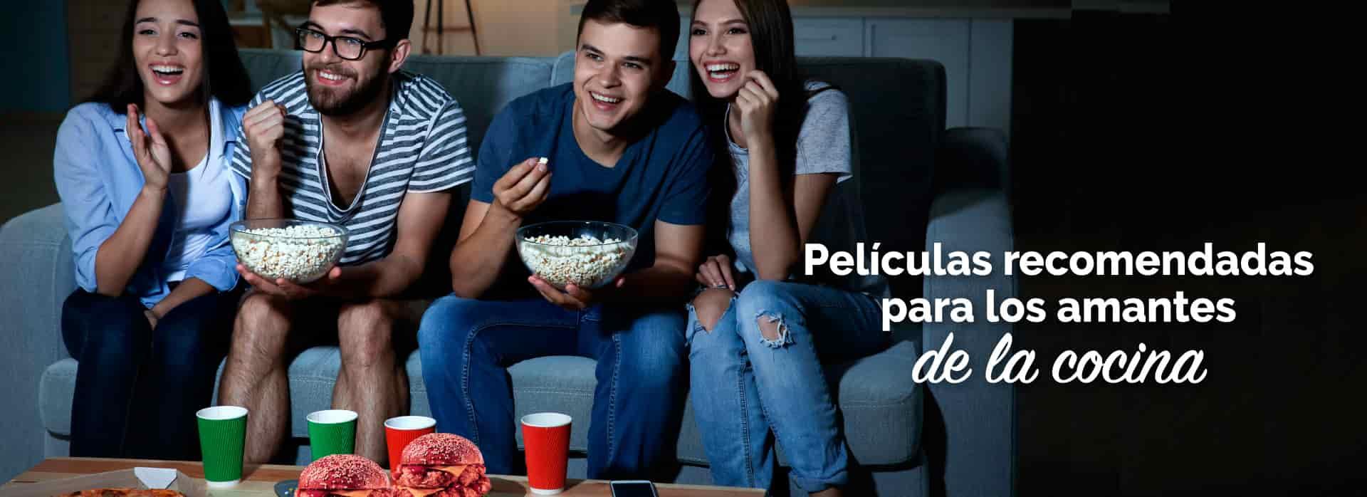 Películas para amantes a la cocina