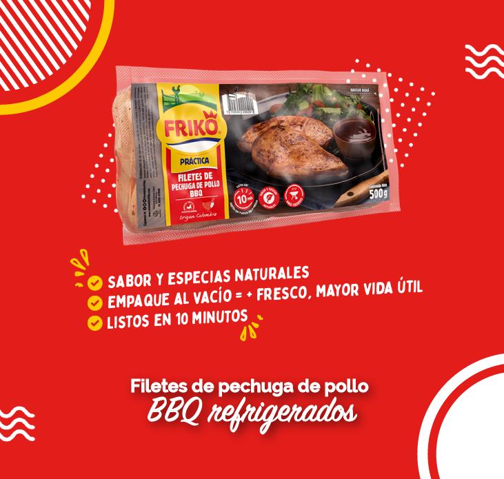 Productos de pollo Friko