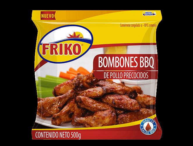 Bombones de pollo BBQ