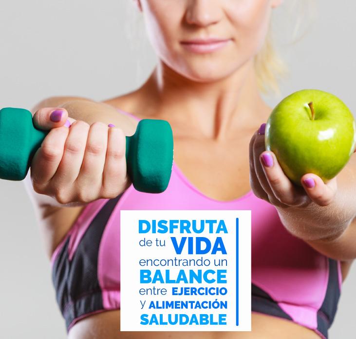 Vive el balance y disfruta de una vida saludable