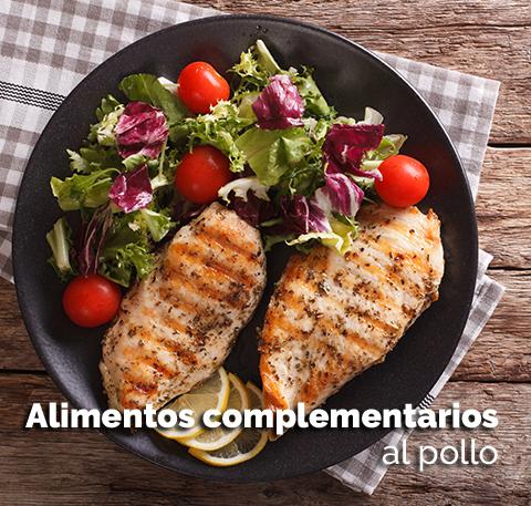 Alimentos complementarios al pollo