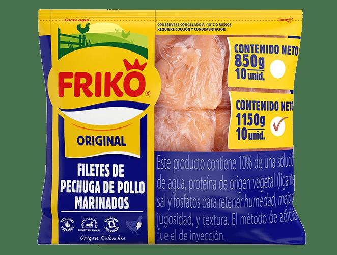 Filetes de pechuga Friko x 10 unidades