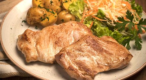 Filetes de contramuslo de pollo 380 gramos de Friko