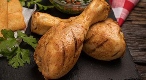 Muslos de pollo a la parrilla de pollo Friko