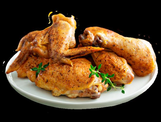 Pollo adobado despresado listo para asar en casa