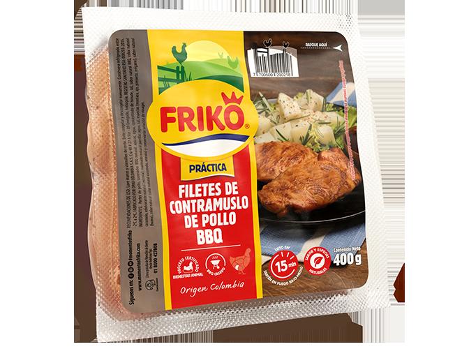 Filete de contramuslo BBQ Friko