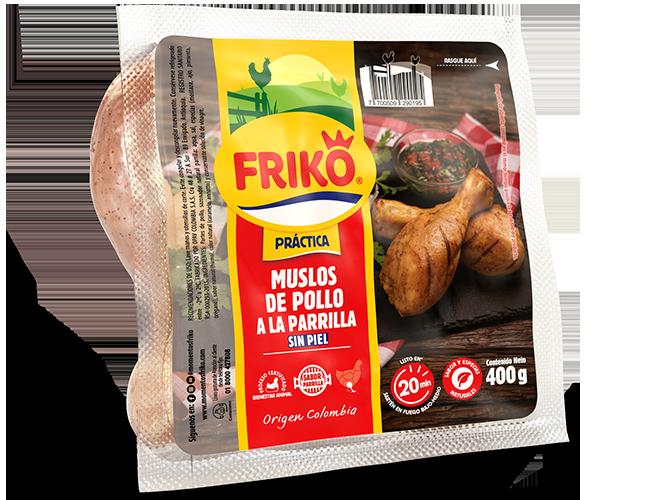 Muslos de pollo a la parrilla Friko