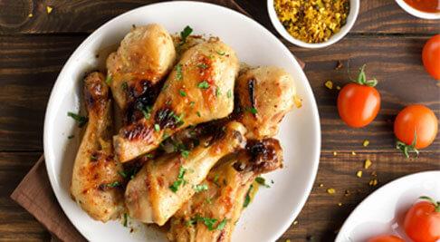 Prueba nuestros muslos de pollo sin piel
