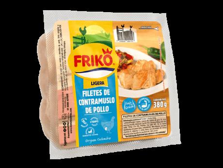 Filetes de contramuslo de Pollo 380 gramos