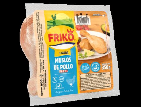 Muslos de Pollo sin piel 350 gramos