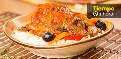 Guiso español con pollo Friko