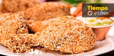 Receta de muslos de pollo friko crocantes al horno