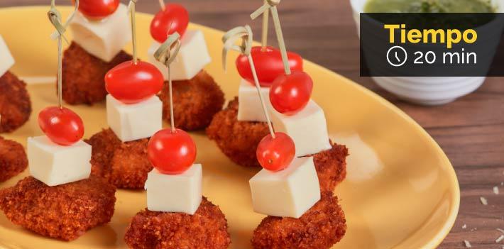 Receta Pasabocas de nuggets FRIKO