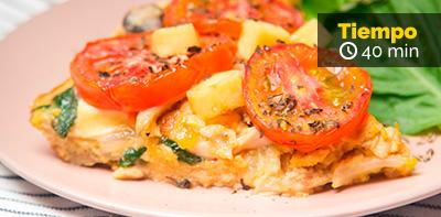 Receta de tortilla de pollo florentina
