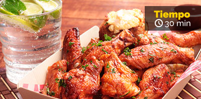 Prueba esta receta de Aiitas BBQ Friko con papas rellenas
