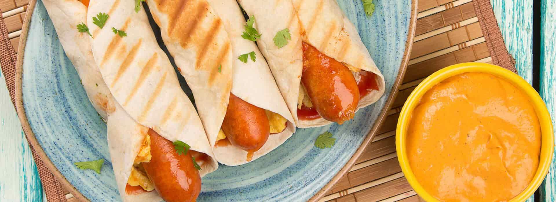 Receta Burrito con Chorizo Friko
