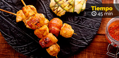 Prueba esta receta de Chuzos de pollo Friko con toque mágico