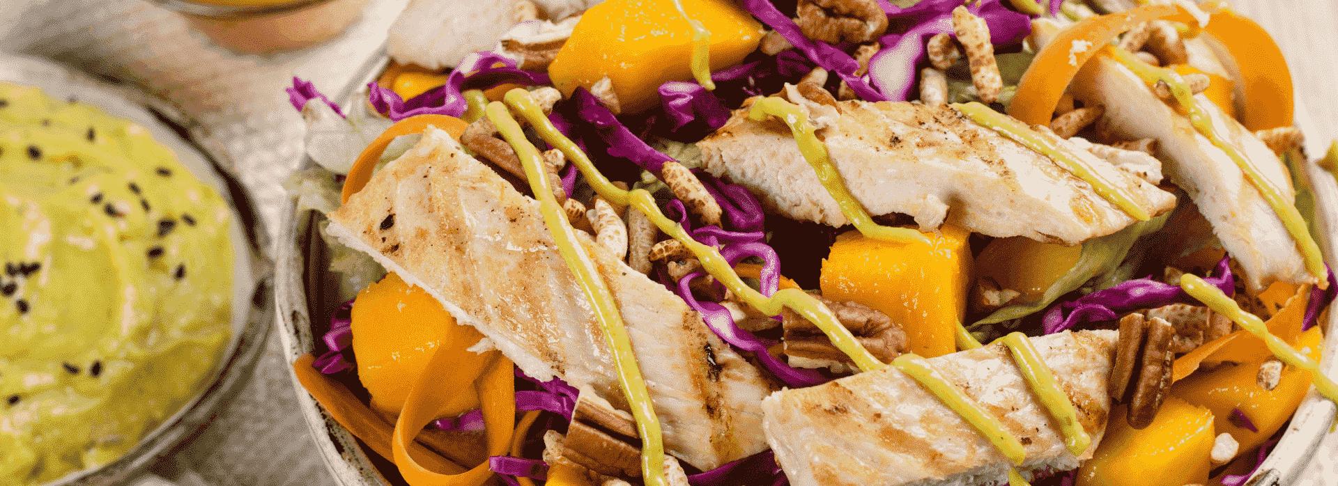 Prueba esta Deliciosa ensalada de pollo para un almuerzo saludable