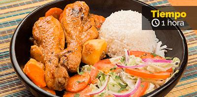 Cómo preparar guiso de muslos de pollo