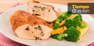 Cómo preparar pechugas de pollo rellenas