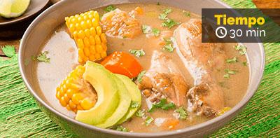 Cómo preparar sopa criolla de pollo