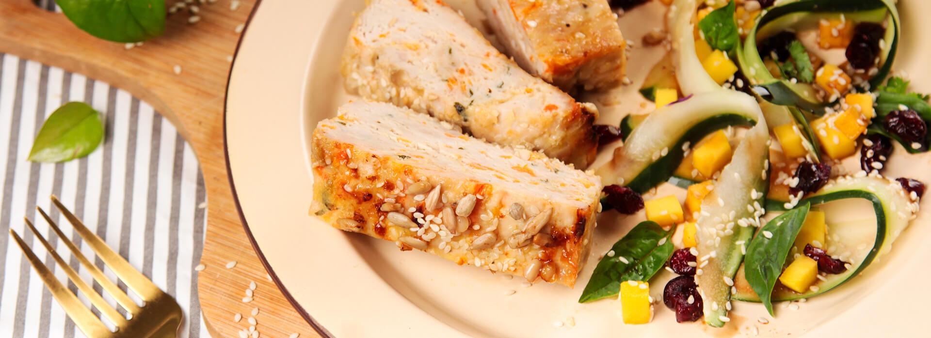 Receta de terrina de pollo y zanahoria