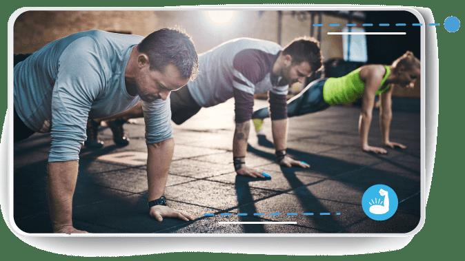 Trazarse metas a corto plazo para hacer ejercicio