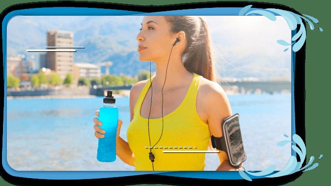 Una buena hidratación en el ejercicio