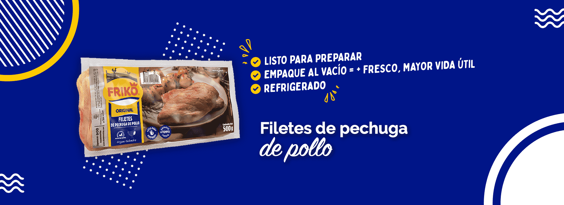 Productos pollo Friko